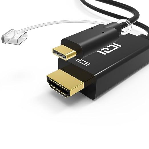 13 opinioni per ICZI Cavo USB C a HDMI 1,8 m ( 4K / 60 Hz ), USB 3.1 Maschio Tipo C (Compatibile