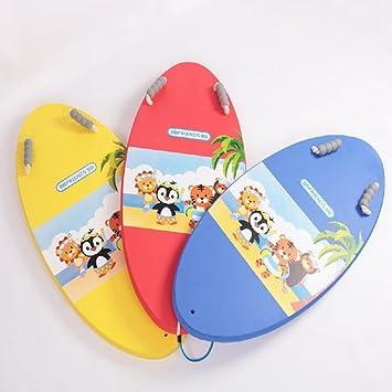 VIO Patrón de dibujos animados lindo patrón niños adultos universal tabla de surf,amarillo,