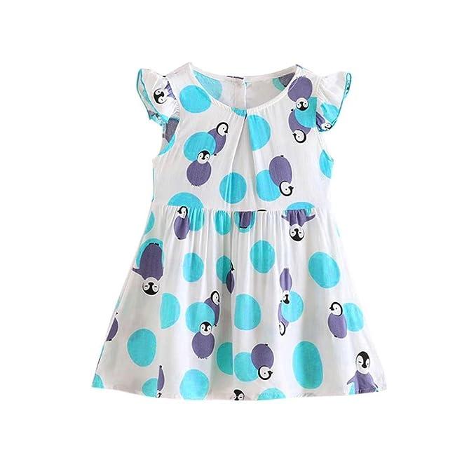 Sommer Blumenrock Baby Prinzessin Tutu-Kleid Mädchen Kleinkind ...