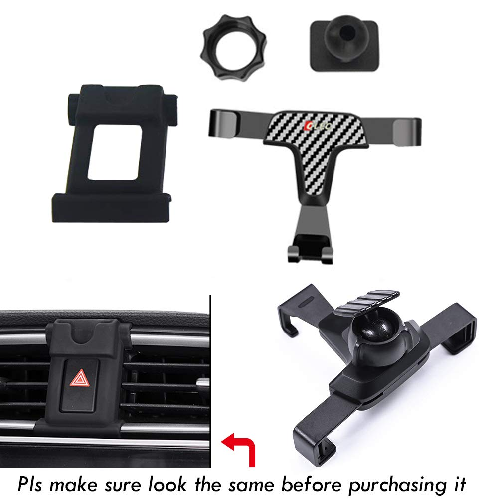 GTINTHEBOX Smartphone Cell Phone Mount Holder with Adjustable Air Vent Clip Cover for 2017 2018 Honda CRV CR-V 4351539851 3.5-6.0 Inches Phone