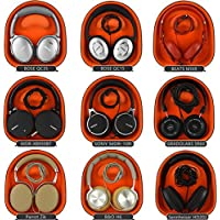 Headphones Case for Bose QuietComfort QC15, QC2, QC25, QC3, AE2w, AE2i, AE2 and More / Headphone Full Size Hard Shell Large Carrying Case / Headset Travel Bag with Space for Cable, AMP, iPod, Parts and Accessories