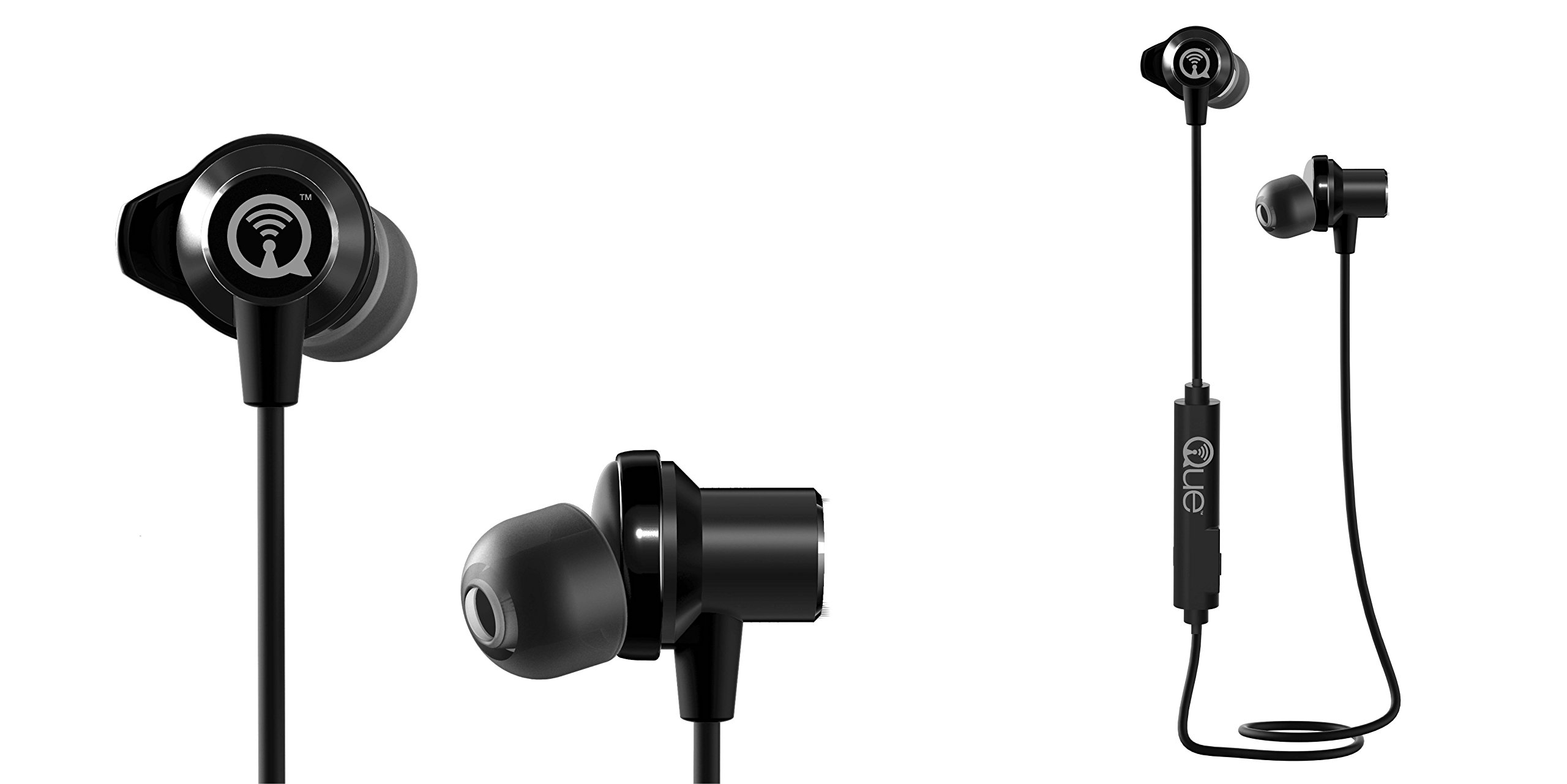Que Acoustics Q3E Wireless Bluetooth In-Ear Headphones / Earbuds with Amazing Sound by Que Acoustics