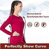 MANCYFIT Thermal Underwear for Women Long Johns Set