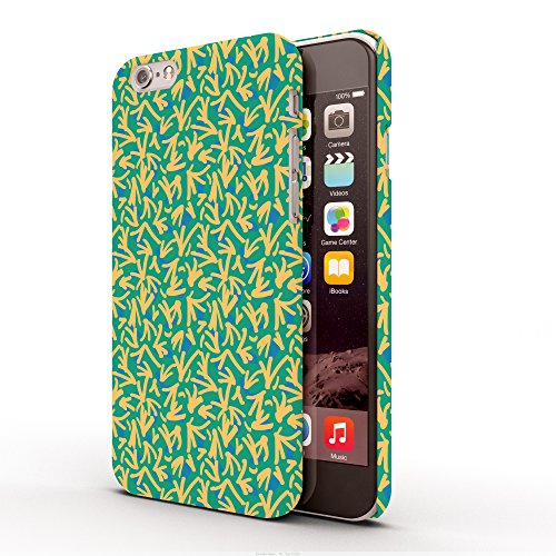 Koveru Back Cover Case for Apple iPhone 6 - Green Yellow Ethy