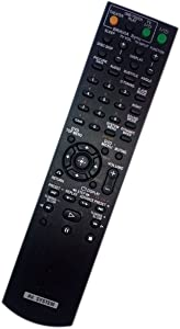 Replaced Remote Control for Sony DAV-HDX585 HCDHDX587WC DAVHDX279 RM-ADU007A HCD-HDX576WF Home Theater Audio/Video Receiver AV System