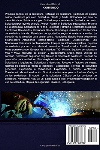 Manual de soldadura industrial: Fundamentos, Tipos y aplicaciones (Spanish Edition): Ing. Miguel DAddario: 9781546375036: Amazon.com: Books