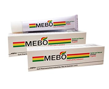 Amazoncom Mebo Burn Fast Relief Pain Cream Skin Healing Ointment