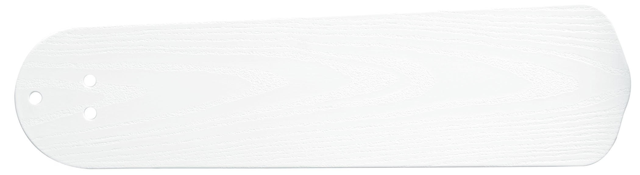 Casablanca 99021, Five All-Weather ABS Matte Snow White Blades, 52-54'' Span