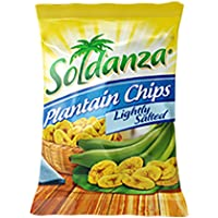Soldanza - Lightly Salted Plantain Chips, 71 Grams