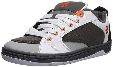 01aa99e5628 Etnies Men s CZAR Skate Shoe Grey White Orange 5.5 Medium US