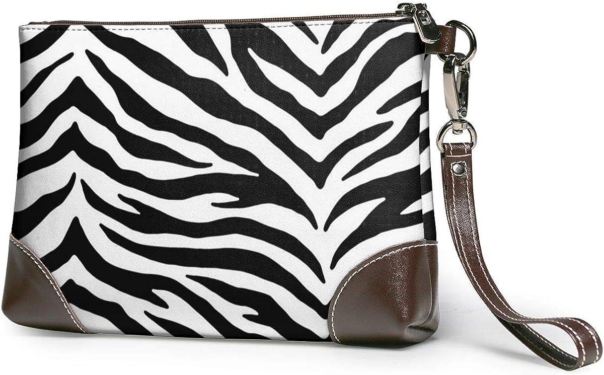 Zebra Print Adjustable Micro Mini in Black//White