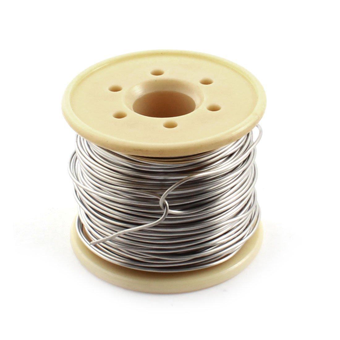 15 metri 1mm AWG18 1.388 Ohm//M Nicromo Resistore Filo per Forno Fornace