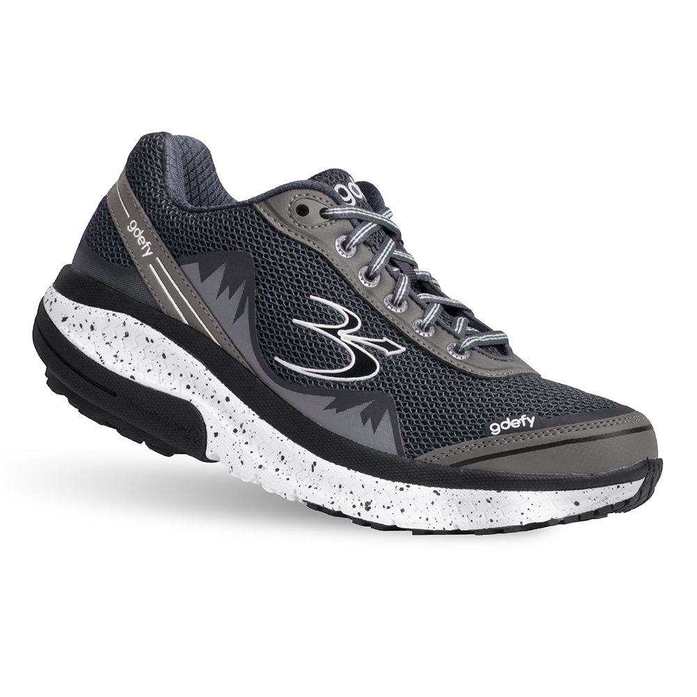 Gravity Defyer Proven Pain Relief Women's G-Defy Mighty Walk Gray Athletic Shoes 8.5 M US - Best Shoes For Heel Pain, Foot Pain and Plantar Fasciitis by Gravity Defyer