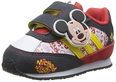 adidas Disney M&M I, Baskets mode mixte bébé Blanc (WhiteVivid Yellow