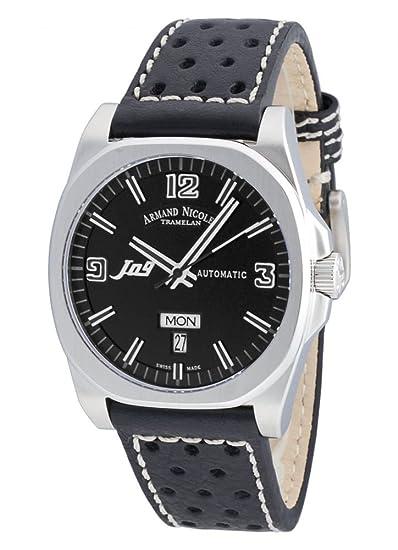 Armand Nicolet J09Day&Date automático 9650A-NR-P660NR2 reloj