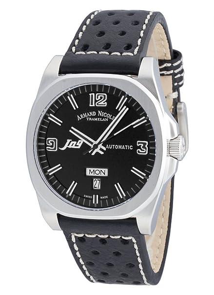 Armand Nicolet J09 Day&Date automático 9650A-NR-P660NR2 reloj de pulsera: Amazon.es: Relojes