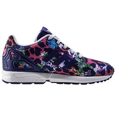 e2547191af079 adidas Children Girls Originals Zx Flux Trainers Purple-Lace Fastening- Torsion  Amazon.co.uk  Shoes   Bags