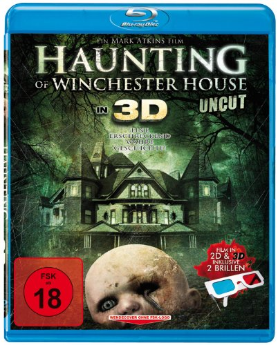 Haunting of Winchester House 3D (Blu-ray) - inkl. 2 Brillen (Brille Film)