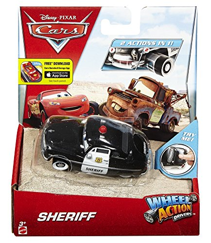 Disney Action Drivers Sheriff Vehicle