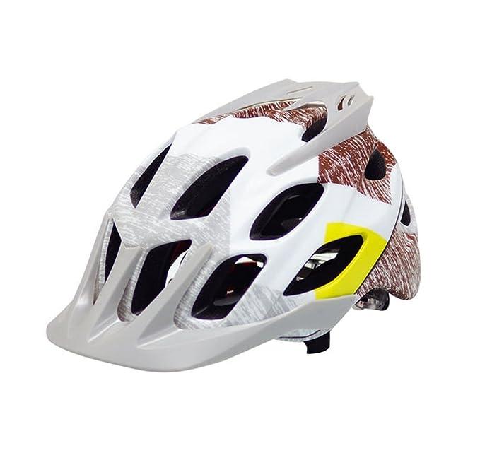 Dooxi Adulto Hombres Mujeres Bicicleta de Montaña Casco de Ciclismo Al Aire Libre Deportes MTB Multiuso Cascos: Amazon.es: Ropa y accesorios