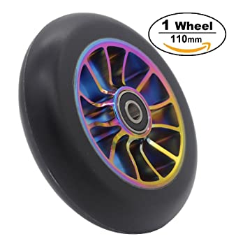 Pro Stunt Scooter ruedas 110 mm rueda de repuesto con ABEC-9 ...