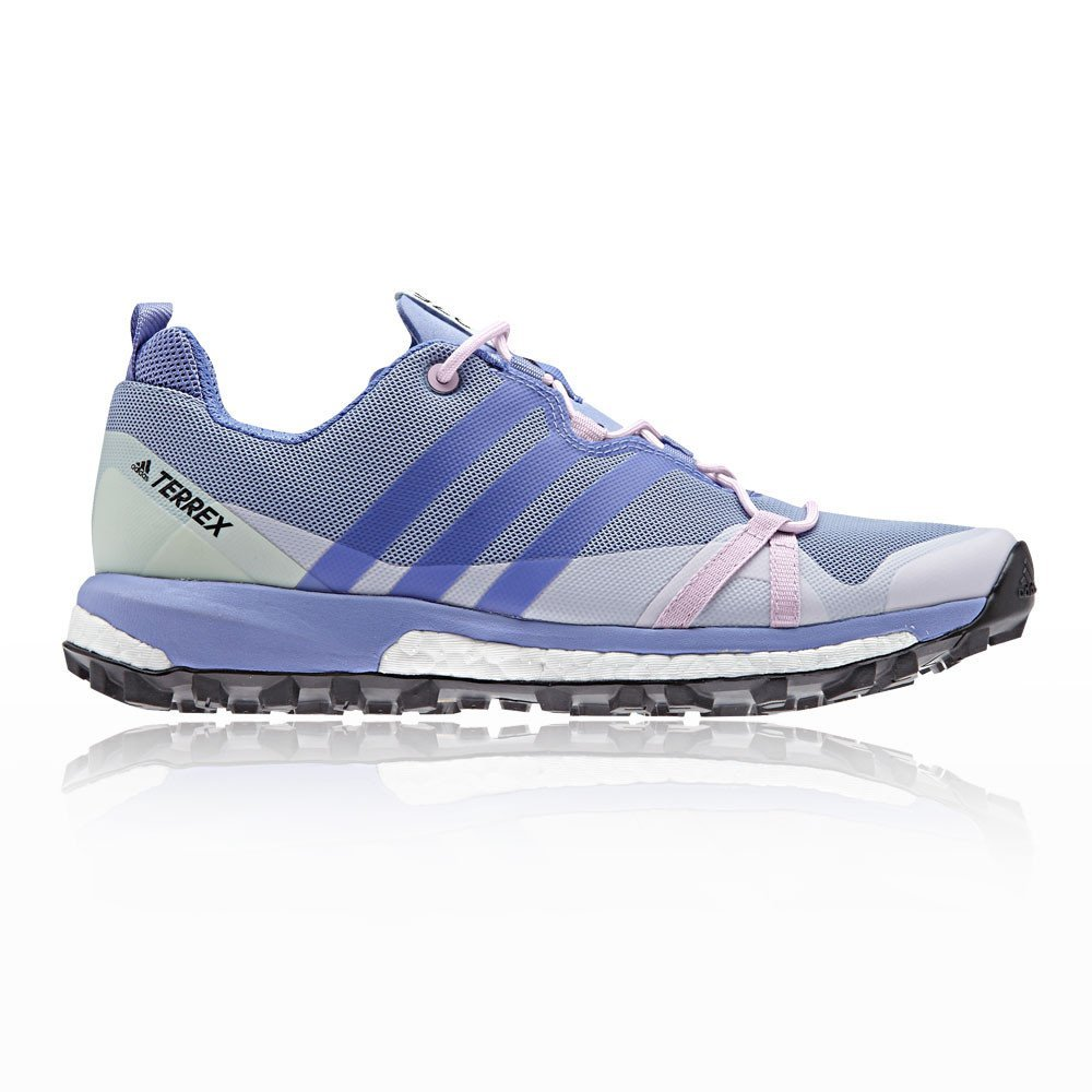 Adidas Terrex Agravic W, Zapatillas de Trail Running para Mujer 44 EU|Azul (Azutiz / Purtiz / Aerver 000)