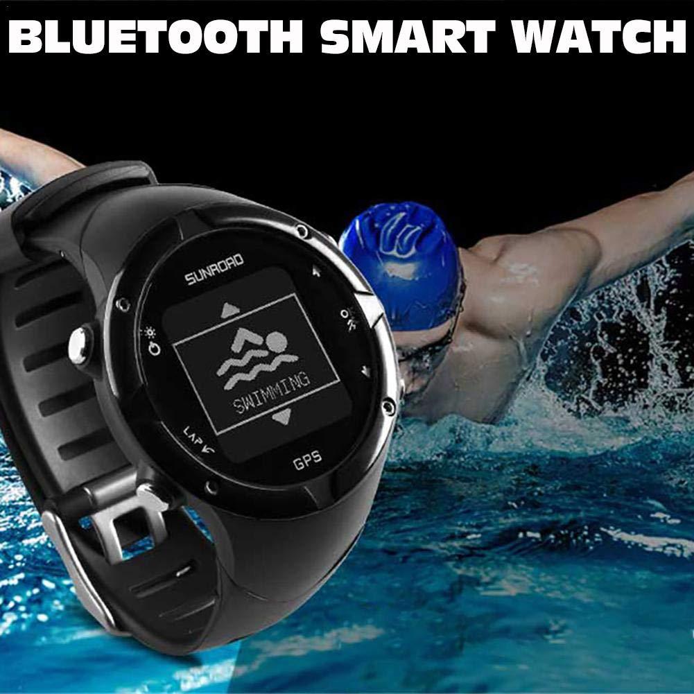 GPS Smart Watch, sunroad GPS Smartwatch Digital Heart Rate ...