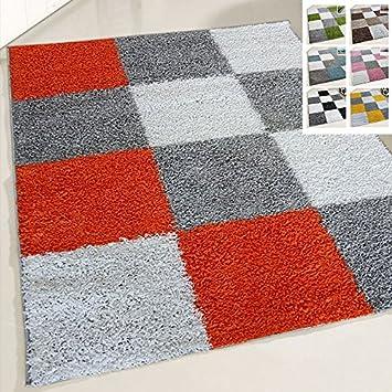 Amazon De Flauschiger Teppich Langflor Hochflor Shaggy Teppiche