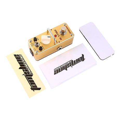 Aroma AAS-3 Etapa AC Simulador de guitarra acústica Mini solo Pedal ...