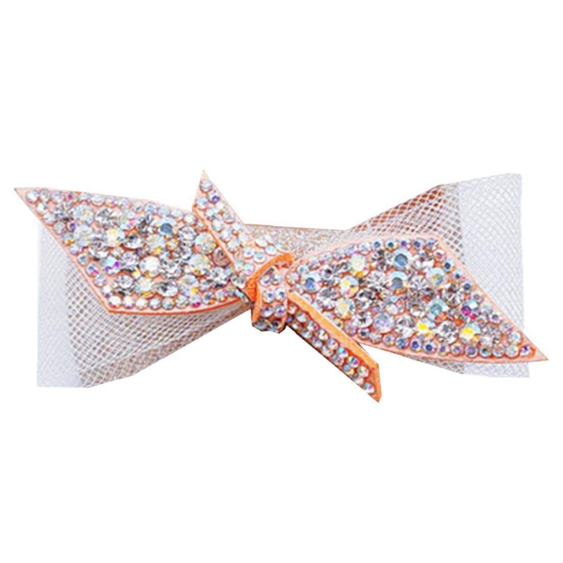 Bontand Bijoux Clip Chaussures D/écoration Strass D/écoration Charms Party Accessoires De Mariage Pour Les Femmes