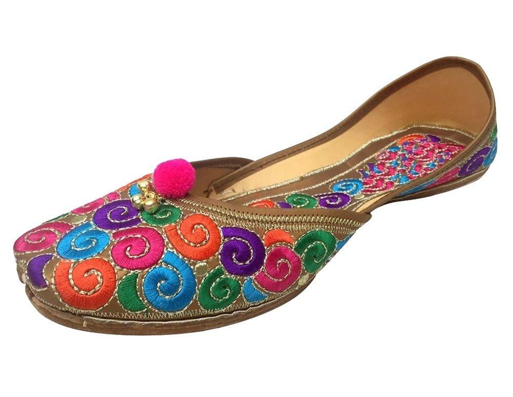 Schritt N Style Leder Damen jutti Schuhe, mehrfarbig - Größe: 40