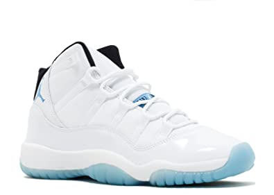 timeless design a9dd6 5f7a1 Jordan Air 11 Retro BG Big Kids Shoes White Legend Blue-Black 378038-
