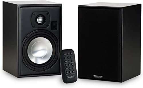 Vanatoo Transparent One Encore Powered Speakers Black, Set of 2