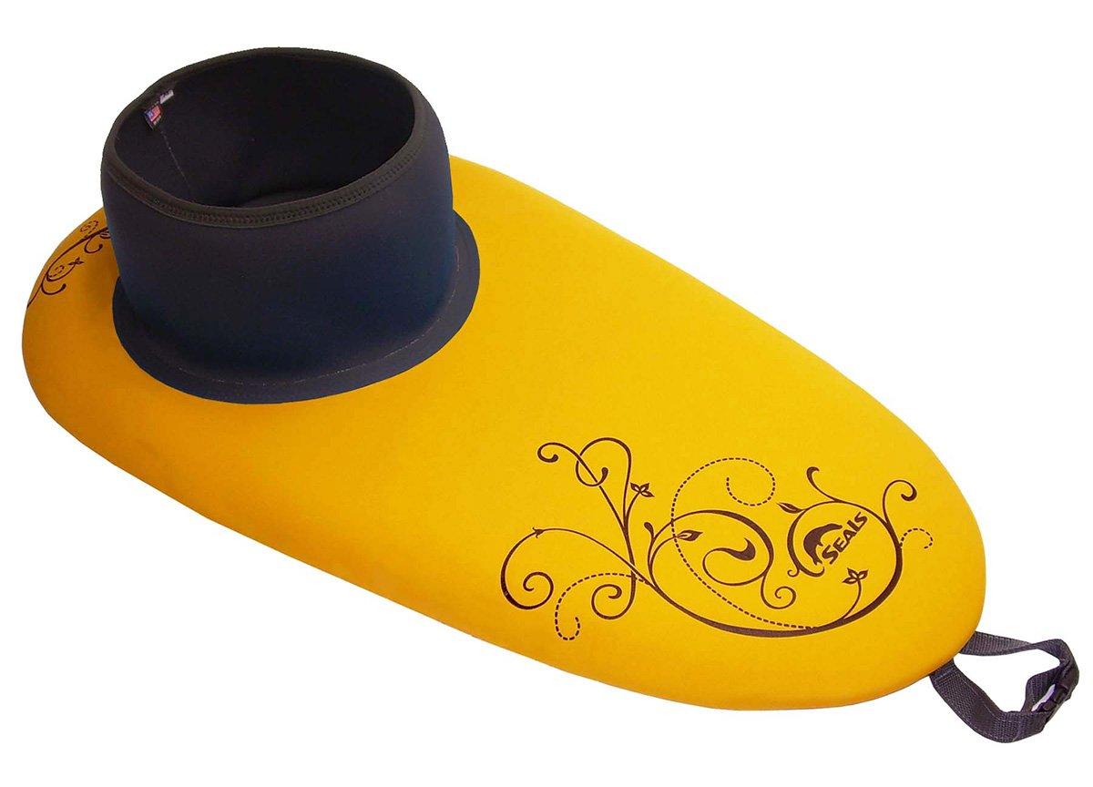Seals Women's Athena Kayak Spray Skirt, Athletic Gold 1.7 X-Large