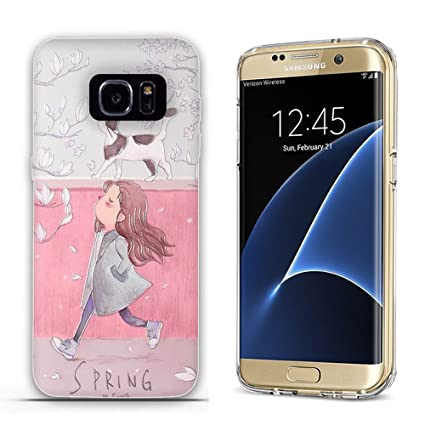 Amazon.com: Samsung Galaxy S7 Edge caso, tomyou 3d Emboss ...