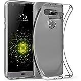 Elekin LG G5 Carcasa Case Cover Transparente TPU