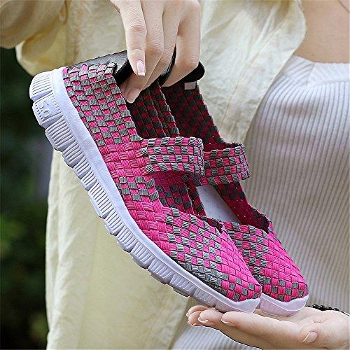 Rosa AIRAVATA Mujer Zapatillas para SH075 w8BFqI