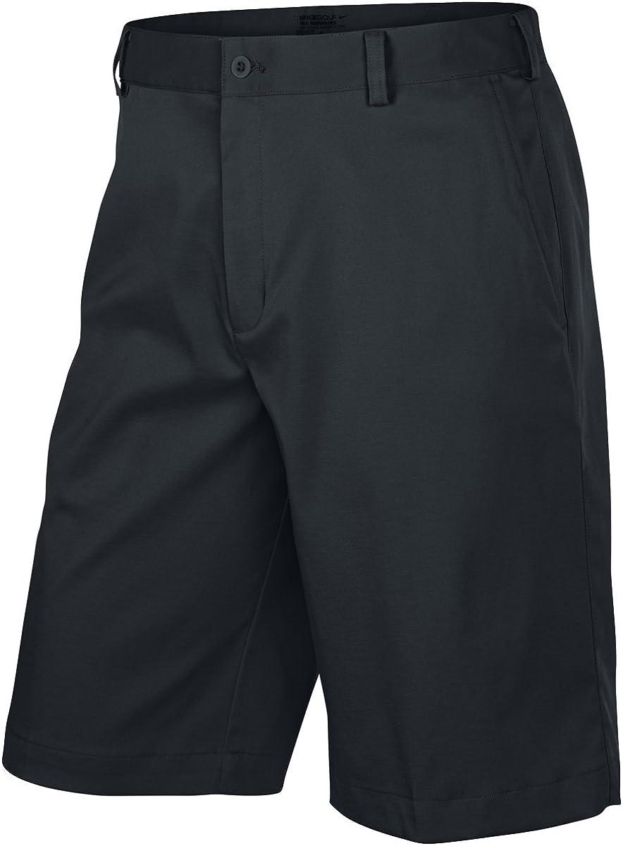 prezzo di fabbrica stile classico presa di fabbrica Amazon.com : Nike Mens Flat Front Golf Shorts Charcoal, 36 : Clothing
