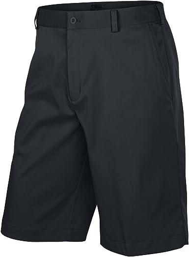 Amazon.com : Nike Golf Men's Flat Front Short - 32 - Black : Clothing