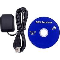 Receptor impermeable del GPS para el ordenador portátil, interfaz USB, ganancia de 27 db