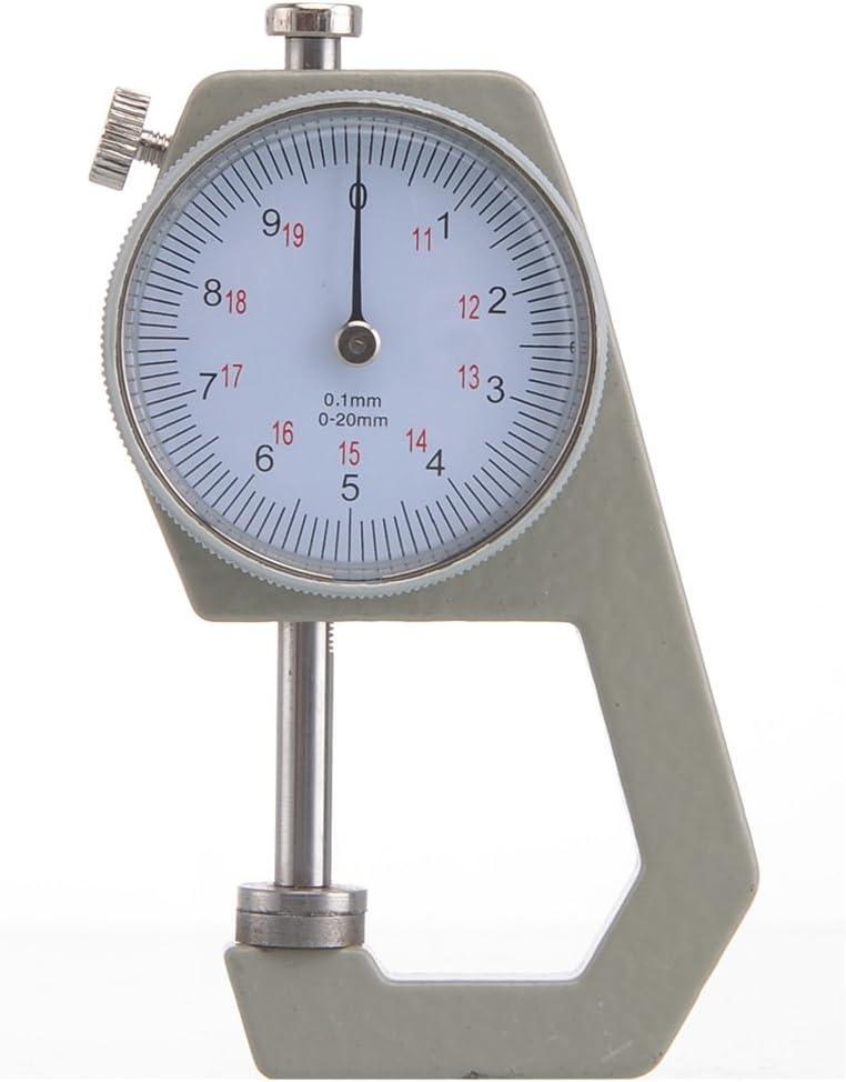 /Messuhr Pocket Dicke Gauge micrometro von 0/ /20/mm gauge Mechanische Leder/