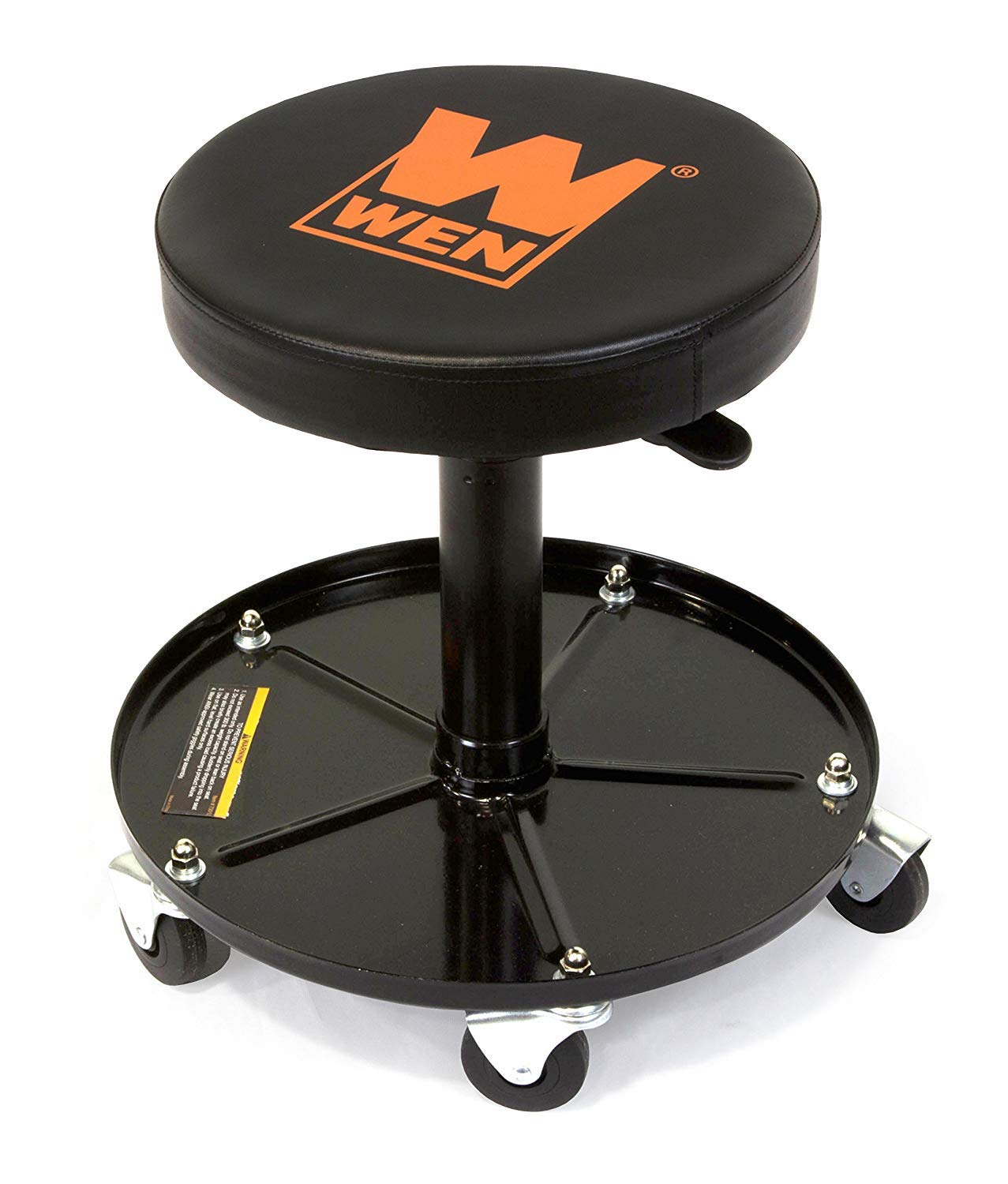WEN 73012 300 lb Capacity Pneumatic Rolling Mechanic Stool Great Lakes Tool MFG INC