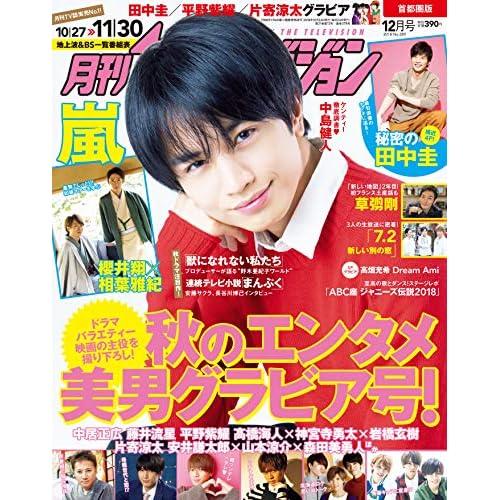 月刊ザテレビジョン 2018年12月号 表紙画像