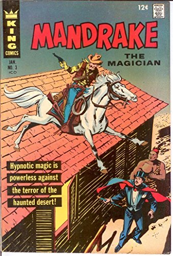 MANDRAKE THE MAGICIAN 3 FINE PHANTOM BACK UP COMICS BOO