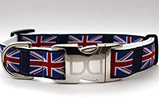 product image for London Calling Custom Dog Collar (Optional Matching Leash Available) XXS