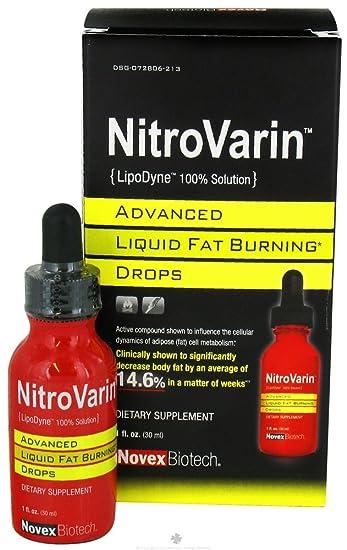 Amazon.com: Novex Biotech nitrovarin (lipodyne 100% solution ...