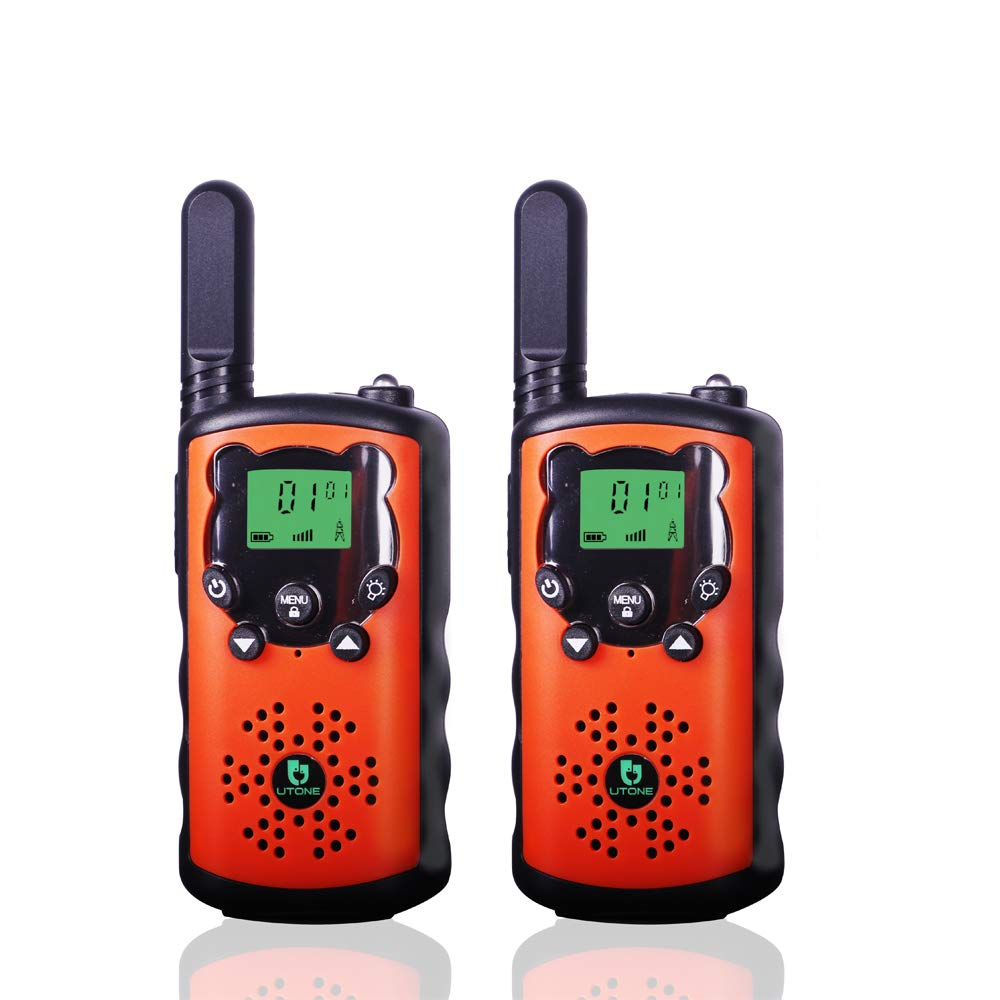 TOWOLD Walkie Talkies for Kids, Toys for 5-12 Year Old Boys and Girls 22 Channels 2 Way Radio Teen Boy Best Gifts for Birthday,Outside Adventures and Camping (Orange) by TOWOLD (Image #1)