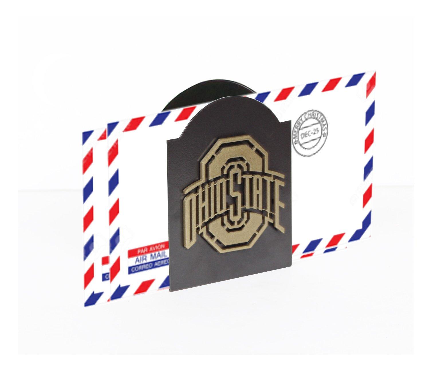 Henson Metal Works 4501-5 Ohio State University Logo Classic Letter Holder