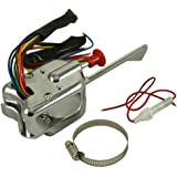Probrother® New Chrome 12V Universal Street Hot Rod Turn Signal Switch For FORD BUICK GM