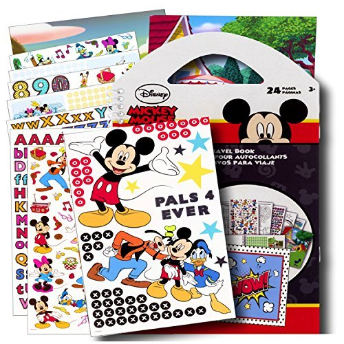 Disney Mickey Mouse Stickers Travel Activity Set